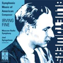 Irving Fine (1914-1962): Symphonie (1962), CD