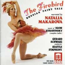 Igor Stravinsky: The Firebird-Fairy Tale, CD