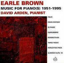 Earle Brown (1926-2007): Klavierwerke, CD
