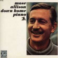 Mose Allison  (geb. 1927): Down Home Piano, CD