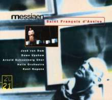 Olivier Messiaen (1908-1992): Saint Francois d'Assise, 4 CDs
