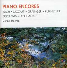 Dennis Hennig: Piano Encores, CD