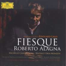 Edouard Lalo (1823-1892): Fiesque (Oper in 3 Akten), 2 CDs