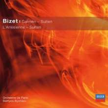 Georges Bizet (1838-1875): Carmen-Suiten Nr.1 & 2, CD