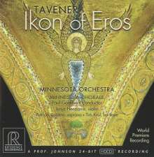John Tavener (geb. 1944): Ikon of Eros, CD