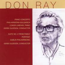 Don Ray (20.Jh.): Klavierkonzert, CD