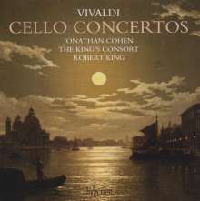 Antonio Vivaldi (1678-1741): Cellokonzerte RV 401,415-418,420, CD