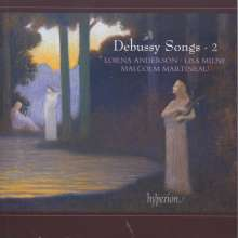 Claude Debussy (1862-1918): Lieder Vol.2, CD