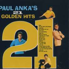 Paul Anka: 21 Golden Hits, CD