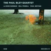 Paul Bley  (geb. 1932): The Paul Bley Quartet, CD