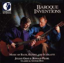 J.Gray & R.Pearl - Baroque Inventions, CD