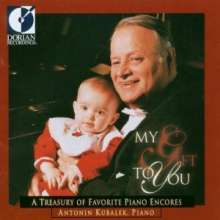 Antonin Kubalek - My Gift to you, CD