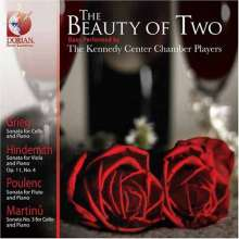 Kennedy Center Chamber Players - The Beauty of Two, CD