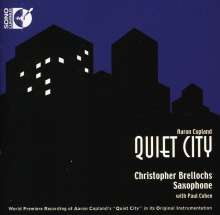 Aaron Copland (1900-1990): Quiet City für Klarinette & Klavier, CD
