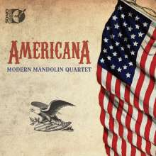 Modern Mandolin Quartet - Americana, Blu-ray Audio