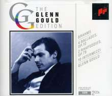 Brahms / Gould: 4 Ballades / Rhapsodies, CD
