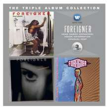 Foreigner: The Triple Album Collection, 3 CDs