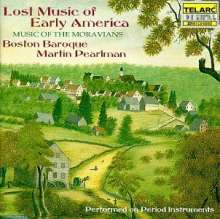 Lost Music of Early America, CD