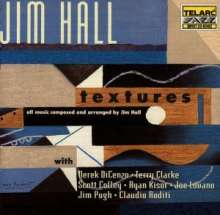 Jim Hall  (geb. 1930): Textures, CD