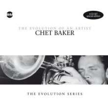 Chet Baker  (1929-1988): The Evolution Of An Artist (Special Edition), 4 CDs