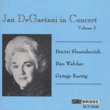 Jan de Gaetani - In Concert Vol.2, CD