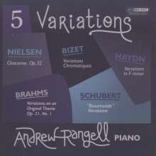 Andrew Rangell - 5 Variations, CD