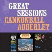 Julian 'Cannonball' Adderley  (1928-1975): Great Sessions, 3 CDs