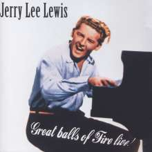 Jerry Lee Lewis: Great Balls Of Fire - Live!, CD