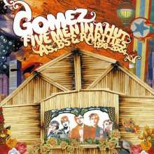 Gomez: Five Men In A Hut - A's, B's & Rarities 1998 - 2004, 2 CDs