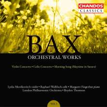 Arnold Bax (1883-1953): Cellokonzert, CD