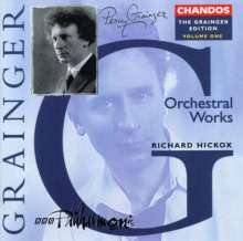 Percy Grainger (1882-1961): Percy Grainger Edition Vol.1, CD