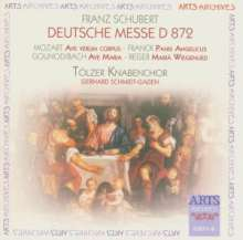 Franz Schubert (1797-1828): Deutsche Messe D.872, CD