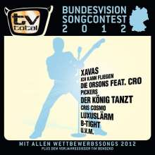 Bundesvision Song Contest 2012, CD