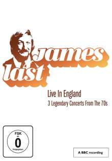 James Last: Live In England - 3 Legendary Concerts From The 70's, DVD