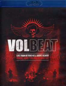 Volbeat: Live From Beyond Hell / Above Heaven, Blu-ray Disc