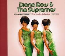 Diana Ross & The Supremes: 50th Anniversary: Singles Collection 1961 - 1969, 3 CDs