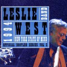 Leslie West: New York State Of Mind: Official Bootleg Series Vol.2, CD
