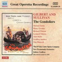 Arthur Sullivan (1842-1900): The Gondoliers, 2 CDs
