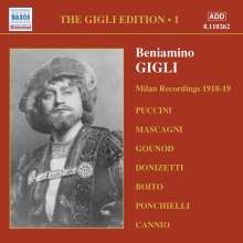 Benjamino Gigli- Edition Vol.1, CD