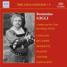 Benjamino Gigli- Edition Vol.3, CD