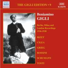 Benjamino Gigli- Edition Vol.9, CD