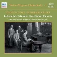 Welte-Mignon - Piano Rolls Vol.1 1905-1927, CD