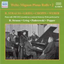 Welte-Mignon - Piano Rolls Vol.2 1905-1915, CD
