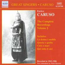 Enrico Caruso:The Complete Recordings Vol.2, CD
