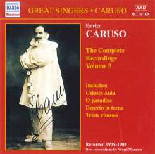 Enrico Caruso:The Complete Recordings Vol.3, CD