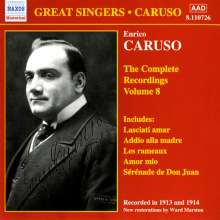 Enrico Caruso:The Complete Recordings Vol.8, CD