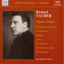 Richard Tauber - Opera Arias Vol.1, CD