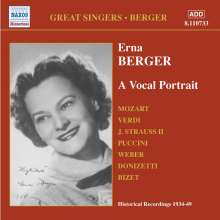 Erna Berger - A Vocal Portrait, CD