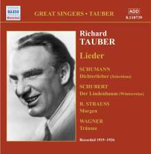 Richard Tauber singt Lieder, CD