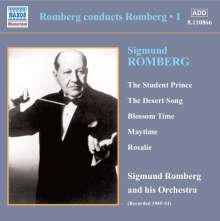 Sigmund Romberg (1887-1951): Romberg conducts Romberg Vol.1, CD